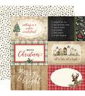 Christmas Double-Sided Cardstock 12\u0022X12\u0022-4\u0022X6\u0022 Journaling Cards