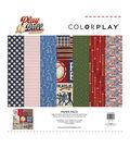 ColorPlay Collection Pack 12\u0022X12\u0022-Play Ball