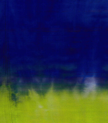 Silky Prints Tie Dye Rayon Fabric-Blue/Lime/Violet