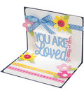 Sizzix Thinlits 4 Pack Dies-You Are Loved 3D Drop-Ins