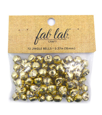 "3/8"" Big Value Gold Bells"
