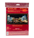 RIOLIS Counted Cross Stitch Kit 19.75\u0022X9.75\u0022-Evening Cafe