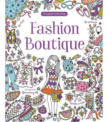 Parragon Fashion Boutique Coloring Book