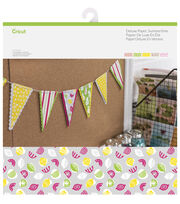 Cricut 10 Pack 12''x12'' Deluxe Papers-Summertime, , hi-res