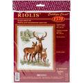 Riolis 15.75\u0027\u0027x19.75\u0027\u0027 Counted Cross Stitch Kit-Deers