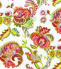 Home Decor 8\u0022x8\u0022 Swatch Fabric-Waverly Summer Canvas Azalea