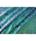 Glitterbug Sequin Fabric 55\u0022-Seashell Purple & Teal