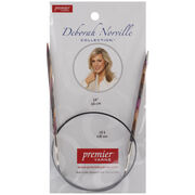 "Deborah Norville Fixed Circular Needles 24"" Size 6/4.0mm, , hi-res"
