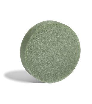 """Floracraft Styrofoam Disc 8""""x2""""-Green"""