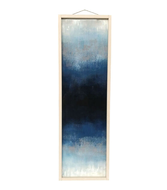 Place Time Summer Wall Decor Blue Abstract Pattern Joann