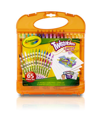 Crayola Twistable Colored Pencil Kit
