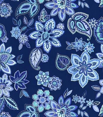 "Waverly Lightweight Decor Fabric 54""-Charismatic/Delft"