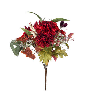 Blooming Autumn Berry & Frosted Marigold Bouquet