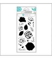 Hampton Art Layering Clear Stamp-Roses, , hi-res