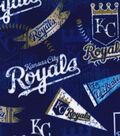 Kansas City Royals Fleece Fabric-Vintage