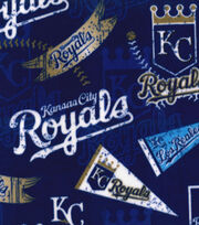 "Kansas City Royals Fleece Fabric 58""-Vintage, , hi-res"