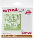 The Scrapping Cottage CottageCutz Elites 3.5\u0027\u0027x3.5\u0027\u0027 Die-Spring Tree