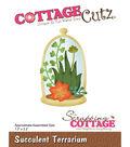CottageCutz Die-Succulent Terrarium 1.3\u0022X2.2\u0022