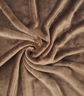 Sew Lush Fleece Fabric 57\u0022-Potting Soil