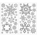 York Wallcoverings Wall Decals-Glitter Snowflakes