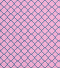 Keepsake Calico Cotton Fabric -Pink Blue Small Medallion