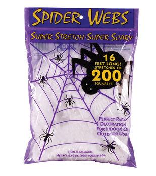 Maker's Halloween 2.1 oz. Super Stretch Spider Web