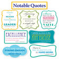 Scholastic Notable Quotes Bulletin Board Set, 2 Sets