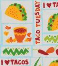 Snuggle Flannel Fabric 42\u0022-Taco Tuesday