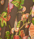 P/Kaufmann Outdoor Print Fabric 54\u0027\u0027-Chocolate Hip Floral