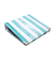 Heidi Swapp Storyline Album Kit-Blue Stripes, , hi-res