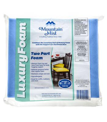 """Mountain Mist 3""""x15""""x17"""" Luxury Foam"""