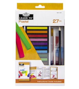 Royal Langnickel Learn To Soft Pastel 27pc Set