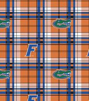 "University of Florida Gators Fleece Fabric 58""-Plaid, , hi-res"