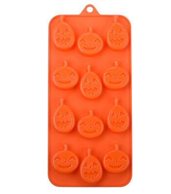 Halloween Silicone Candy Mold-Pumpkin Faces