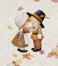 Harvest Cotton Fabric -Pilgrim Damask