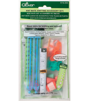 Clover Knit Mate Knitting Accessory Set