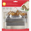 Wilton 3 Piece Gingerbread House Panel Cookie Cutter Set