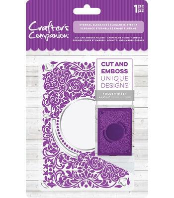Crafter's Companion 4.25''x5'' Cut & Emboss Folder-Eternal Elegance