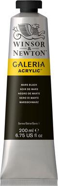 Winsor & Newton Galeria Acrylic 200ml Color Tube-Mars Black