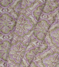 Home Essentials Lightweight Decor Fabric 45\u0027\u0027-Alenza Panorama Lilac
