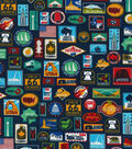 Novelty Cotton Fabric-State Signs