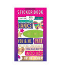 American Crafts Sticker Book 30/Pkg-Wishes For You