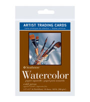 "Strathmore Artist Trading Cards 2.5""X3.5""-Watercolor Cold Press, , hi-res"
