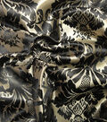 Yaya Han Cosplay Thrones Brocade Fabric 59\u0027\u0027-Black & Gold