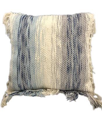"""Indigo Mist 18""""x18"""" Woven Multi Pillow"""