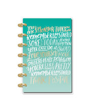 The Happy Planner Girl Mini 12 Month Planner-Healthy Hero, , hi-res