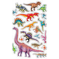 Discovering Dinosaurs superShapes Stickers-Large 152 Per Pack, 12 Packs