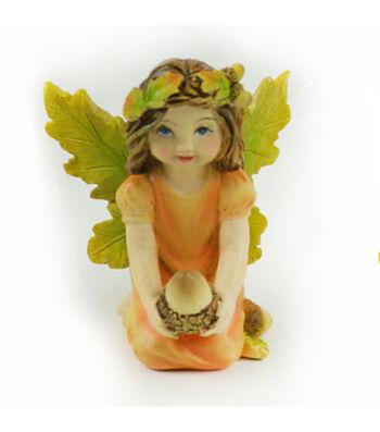 Simply Autumn Littles Fairy with Acorn