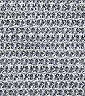 Keepsake Calico Cotton Fabric 43\u0027\u0027-Black Faceted Geometric