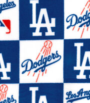 Los Angeles Dodgers Fleece Fabric -Block, , hi-res